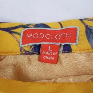 Modcloth Skirts - ModCloth Ikebana for All A-Line Skirt